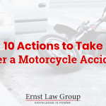 10 Actions to Take After a Motorcycle Accident