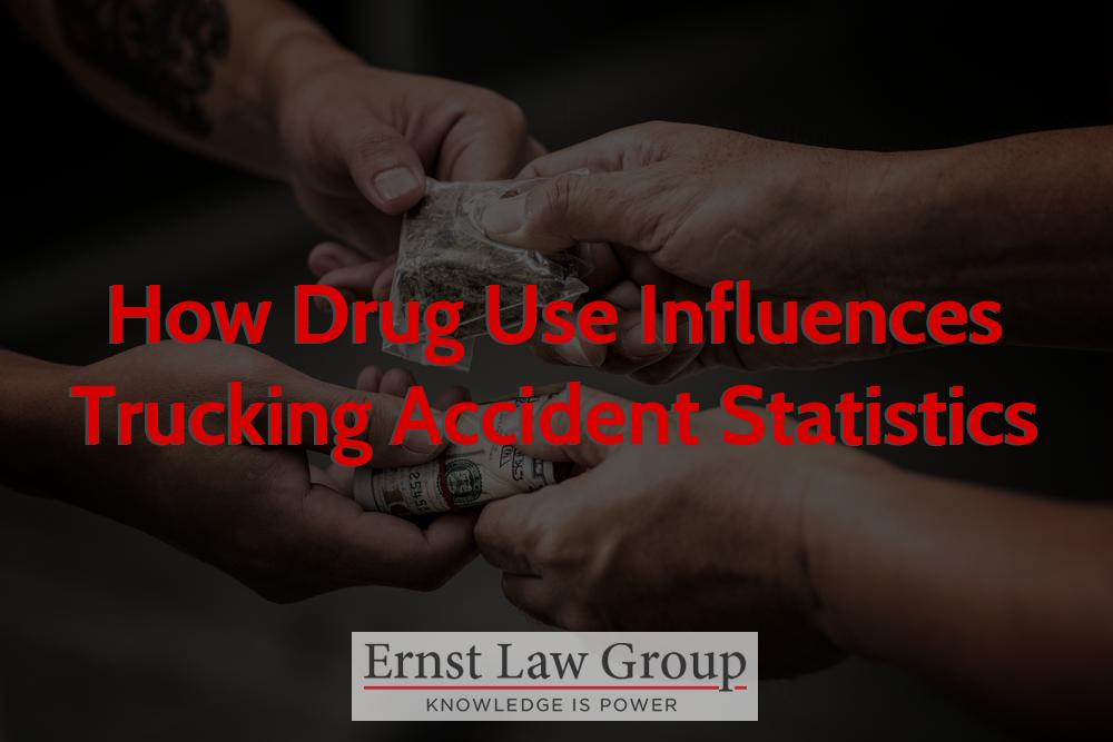 How Drug Use Influences Trucking Accident Statistics