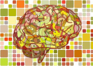 Brain Injury Mosaic Graphic