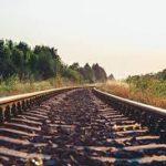 Vehicle Rolls Onto Train Tracks