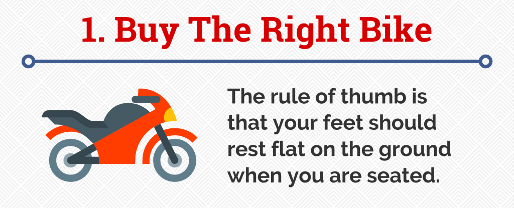 1. Buy The Right Bike