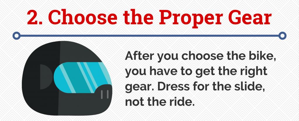 2. Choose the Proper Gear