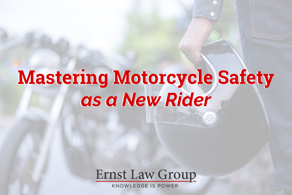 Mastering Motorcycle Safety as a New Rider