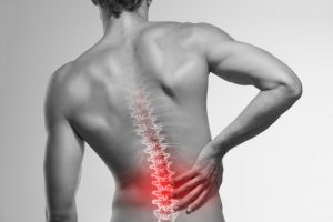 Lower back pain; spinal cord injury
