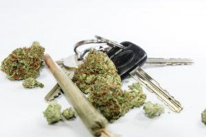 Don't Drive High - Car Keys and Cannabis