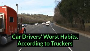 Car Drivers' Worst Habits, According to Truckers