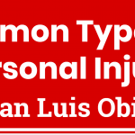 Common Types of Personal Injury in San Luis Obispo header
