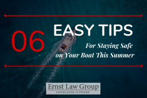 6 Easy Tips for Staying Safe On Your Boat This Summer header