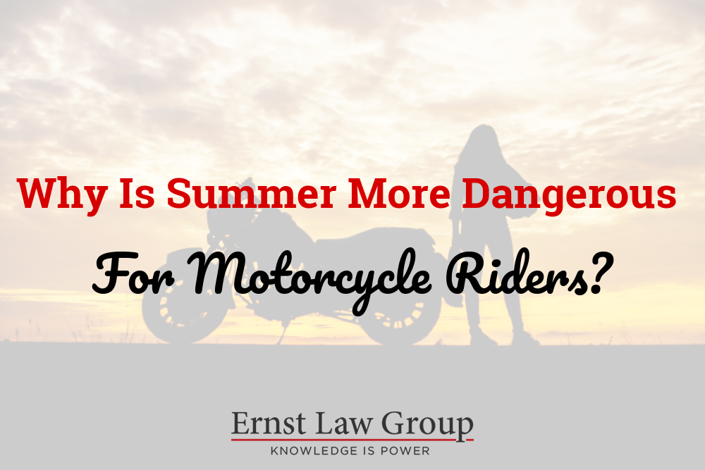 Why Is Summer More Dangerous for Motorcycle Riders