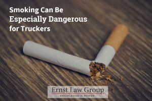Smoking Can Be Especially Dangerous for Truckers