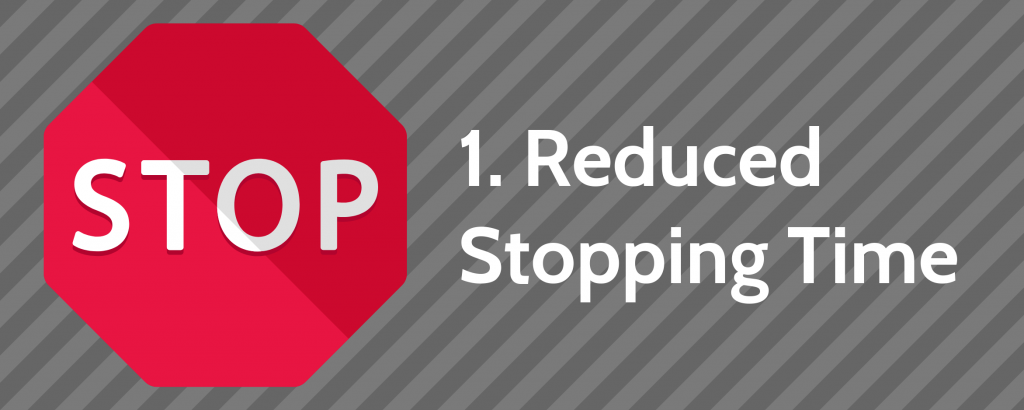 1. Reduced Stopping Time