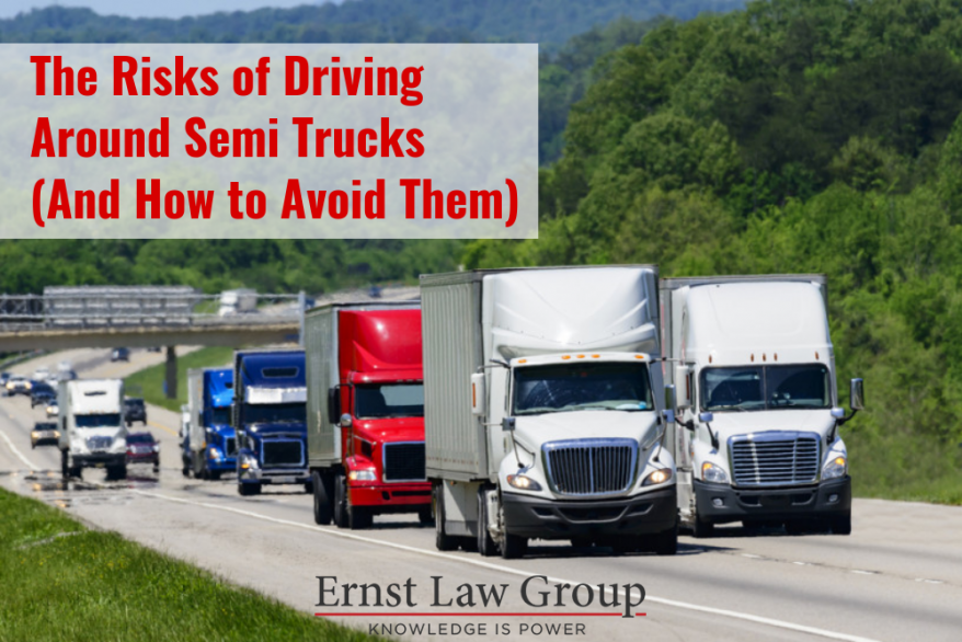 The Risks of Driving Around Semi Trucks (And How to Avoid Them)