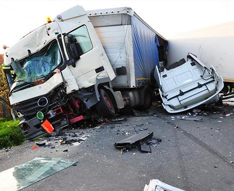 Semi-Truck Accident Aftermath