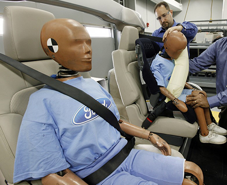 Crash Test for Truck Accidents