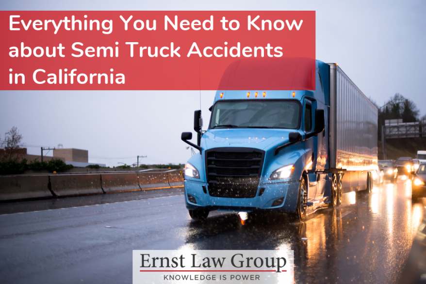 Everything You Need to Know about Semi Truck Accidents in California