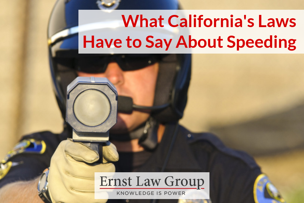 What California's Laws Have to Say About Speeding