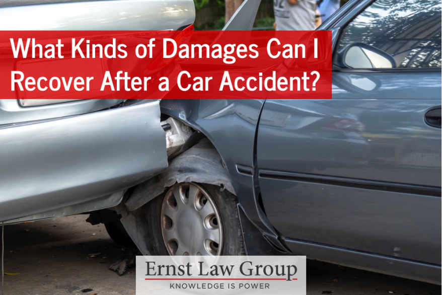 What Kinds of Damages Can I Recover After a Car Accident